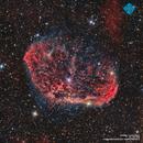 NGC  6888 - The Crescent Nebula,                                Francesco di Biase