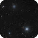 M53, NGC5053, IC857, IC858, IC859 in Coma Berenices,                                Oliver Czernetz