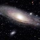 M31 2019 - LRGB,                                AstroMo