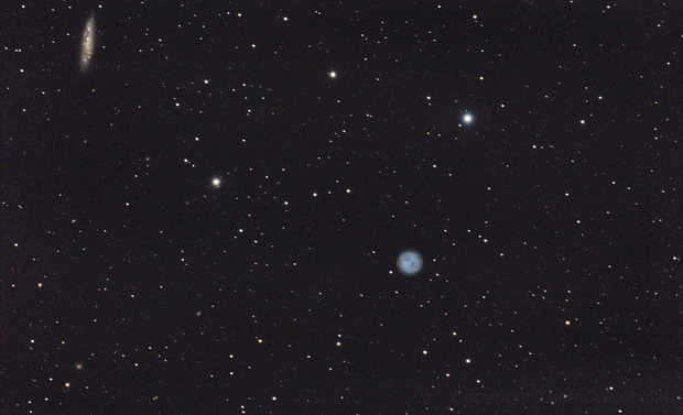 Owl Nebula and Surfboard Galaxy,                                Zach Coldebella