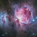 Orion Nebula M42,                                Jerry Huang