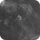 NGC 6888 in hydrogen alpha light,                                Dean Jacobsen