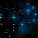 Pleiades Star Cluster,                                Ed Albin