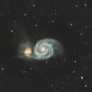 M51 the Whirlpool Galaxy,                                Alex Gorbachev