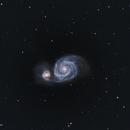M 51  Whirlpool Galaxy,                                Giorgio Ferrari