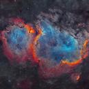 IC 1848 - Soul Nebula,                                Yannick Akar