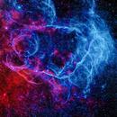 Vela Supernova Remnant,                                Jim DeLillo