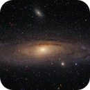 The Andromeda galaxy, Messier 31,                                Roger Clark