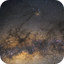 Milky Way in Scorpius - Wideangle,                                Frank