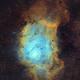 Lagoon Nebula - SHO - 18h,                                Alberto Ibañez