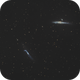 Whale(NGC4631) & Hockey Stick(NGC4656) Gx,                                Detlef Möller