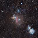 Horsehead nebula and M42,                                ObservatoriGavarres