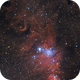 Christmas Tree Cluster and Cone Nebula (NGC 2264) in HaRGB - Season's Greetings,                                Orestis Pavlou