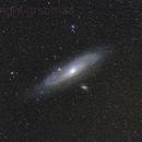 The Great Andromeda Galaxy - Reprocessed,                                Gabriel R. Santos (grsotnas)