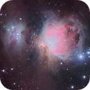 Messier 42 - The Great Orion Nebula in LRGB,                                Arun H.