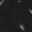 M65, M66, NGC 3628 - Leo-Triplet,                                Manfred Fellner
