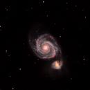 M51 - The Whirlpool Galaxy,                                Rohit Belapurkar