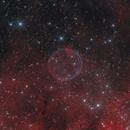 HOO Soap Bubble Nebula, ( PN G75.5+1.7),                                noodle