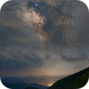 Milky Way on the Blue Ridge Parkway,                                Donnie B.