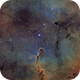 IC1396 in HaOiiiSiiRGB,                                Rick Stevenson