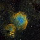 IC2872 - Modified Hubble Palette,                                Rodney Watters