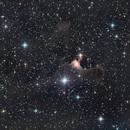 SH2-136 Ghost nebula,                                PiPais