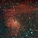 Flaming Star Nebula,                                Jessi Wenke