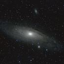 M31, 32, 110 mit 500mm,                                astromatthias