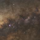 Lagoon to the Eagle Nebula,                                Gerard O'Born