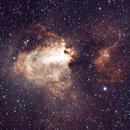 NGC 6618 Swan Nebula,                                Dennis Recla
