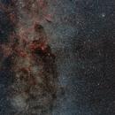 Nébulosités dans la Voie Lactée,                                Valentin
