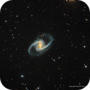 NGC 1365, The Great Barred Spiral Galaxy,                                  Russ Carpenter