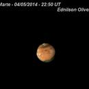 Marte - 04/05/2014 - 22:50 UT,                                ednilsonoliveira68