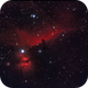 Horsehead Nebula and Flame Nebula,                                Wilson