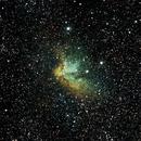 NGC 7380 the Wizard Nebula,                                jerryyyyy