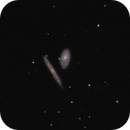 NGC 4298 & NGC 4302 in Coma Berenices,                                G400