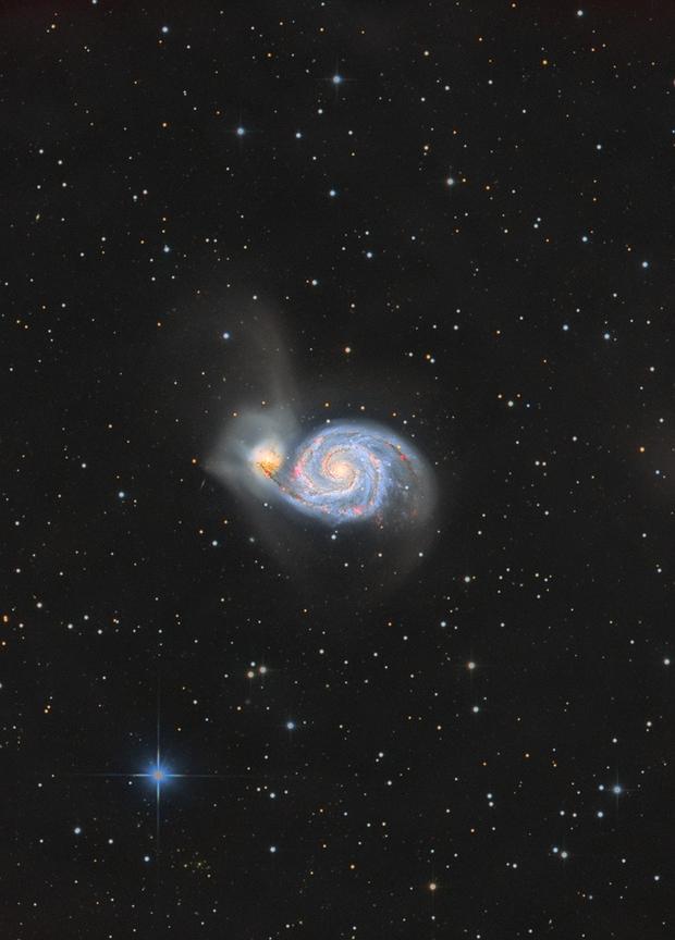 M51 Whirlpool Galaxy,                                Gebhard Maurer