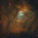 NGC 7635 (Bubble Nebula)  in SHO, T250 f/4  /  ATIK ONE  /  AZEQ6,                                  Pulsar59