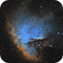NGC 281 Pacman nebula SHO,                                  Algorab