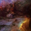 The dark cloud between the Pelican an the North America Nebulae,                                Manuel Huss