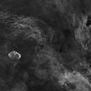 NGC 6888 - H-alpha,                                U-ranus