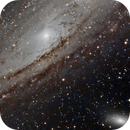 M31 - Galaxie d'Andromède,                                Ludovic