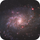 M33 The Triangulum Galaxy,                                Chad Leader