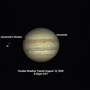 Ganymede-Io Double Shadow Transit August 14, 2020,                                walkman