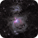 M42 - Orion Nebula - Bad first try with my new mobile Setup :-(,                                Astrozeugs