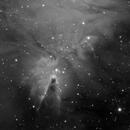 NGC2264 - Cone Nebula region,                                Yann-Eric BOYEAU