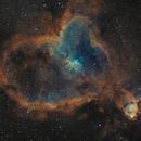 IC 1805 – The Heart Nebula,                                Victor Van Puyenbroeck