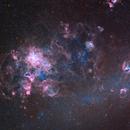 NGC 2070 and around in Ha+LRGB,                                Alberto Pisabarro