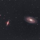 Bodes and Cigar galaxy,                                Christiaan Berger