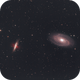 Bodes and Cigar galaxy,                                Christiaan Berger